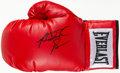Boxing Collectibles:Autographs, Riddick Bowe Signed Glove. ...