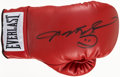 Boxing Collectibles:Autographs, Sugar Ray Leonard Signed Boxing Glove. ...