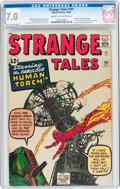 Silver Age (1956-1969):Superhero, Strange Tales #101 (Marvel, 1962) CGC FN/VF 7.0 Cream to off-whitepages....