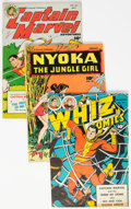 Golden Age (1938-1955):Miscellaneous, Fawcett Group of 5 (Fawcett Publications, 1940s) Condition: Average FN.... (Total: 5 Comic Books)