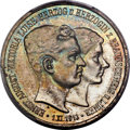German States:Brunswick-Wolfenbüttel, German States: Brunswick-Wolfenbüttel. Ernst August 3 Mark 1915-A MS67 PCGS,...