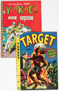 Golden Age (1938-1955):Miscellaneous, Target V9#6 and Young King Cole V3#10 Group (Various Publishers, 1948) Condition: Average FN.... (Total: 2 Comic Books)