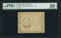 Colonial Notes:Continental Congress Issues, Continental Currency September 26, 1778 $50 PMG About Uncirculated 50 EPQ.. ...