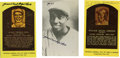 Autographs:Post Cards, Judy Johnson and Cool Papa Bell Signed Postcards Lot of 3. Negro league legend Judy Johnson provides the gold Hall of Fame ...