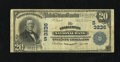 National Bank Notes:West Virginia, Charleston, WV - $20 1902 Plain Back Fr. 650 The Charleston NB Ch.# (S)3236. Before the emergence of this $20, there we...