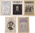 Miscellaneous:Ephemera, Lot of Vintage Magazines with Teddy Roosevelt Covers. A group ofnine period magazines including an April 7, 1904 issue of ...