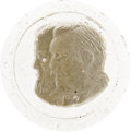 "Political:Miscellaneous Political, Grover Cleveland & Allen Thurman Jugate Paperweight. A souvenirof the 1888 presidential campaign, 2.75"" in diameter, clear ..."