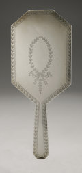 Silver Holloware, American:Mirrors and Vanity-related , An American Silver Hand Mirror. Unger Bros., Newark, NJ, EarlyTwentieth Century. Hallmark to the front with STERLIN...