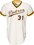 Baseball Collectibles:Uniforms, 1977 Dave Winfield Game Worn San Diego Padres Jersey, MEARS A10. ...