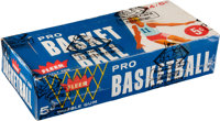 1961-62 Fleer Basketball Wax Box with Twenty-Four Unopened Packs
