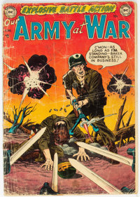 Our Army at War #1 (DC, 1952) Condition: GD