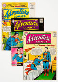 Silver Age (1956-1969):Superhero, Adventure Comics Group of 8 (DC, 1956-59) Condition: Average VG-.... (Total: 8 )