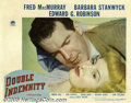 Movie Posters:Film Noir, Double Indemnity (Paramount, 1944)... (3 items)
