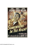Movie Posters:Film Noir, Somewhere in the Night (20th Century Fox, 1946)...