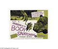 Movie Posters:Science Fiction, Invasion of the Body Snatchers (Allied Artists, 1956)...