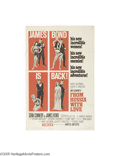 Movie Posters:Action, From Russia With Love (United Artists, 1963)...