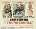 Movie Posters:Action, Thunderball (United Artists, 1965)...