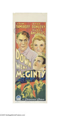 Movie Posters:Comedy, Down Went McGinty (Paramount, 1940)...