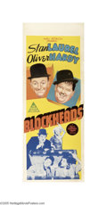Movie Posters:Comedy, Block-Heads (MGM, 1938)...