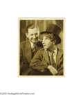 Movie Posters:Comedy, Harpo Marx Autographed Picture (Circa 1929)...