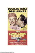 Movie Posters:Comedy, The Long, Long Trailer (MGM, 1954)...