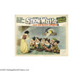 Movie Posters:Animated, Snow White and the Seven Dwarfs (RKO, 1937)...