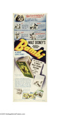 Movie Posters:Animated, Bambi (RKO, 1942)...