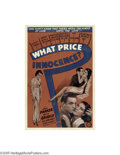 Movie Posters:Drama, What Price Innocence? (Columbia, 1933)...