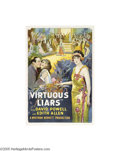 Movie Posters:Drama, Virtuous Liars (Vitagraph, 1924)...