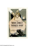 Movie Posters:Romance, Bobbed Hair (Famous Players Lasky, 1922)...