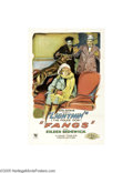 Movie Posters:Action, Fangs (Sun Pictures, 1926)...