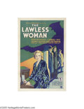 Movie Posters:Crime, The Lawless Woman (Chesterfield Motion Pictures Corporation,1931)...