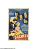 Movie Posters:Crime, The Widow in Scarlet (Mayfair Pictures, 1932)...