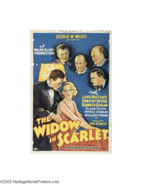 The Widow in Scarlet (Mayfair Pictures, 1932)