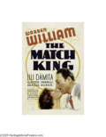 Movie Posters:Drama, The Match King (Warner Brothers-First National, 1932)...