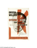 Movie Posters:Drama, Citizen Kane (RKO, R-1956)...