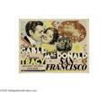 Movie Posters:Romance, San Francisco (MGM, 1936)...