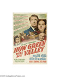 Movie Posters:Drama, How Green Was My Valley (20th Century Fox, 1941)...