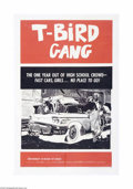 Movie Posters:Drama, T-Bird Gang (Film Group, Inc., 1959)...