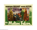 Movie Posters:Crime, The Maltese Falcon (Warner Brothers, 1941)...
