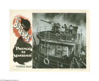 Passage to Marseille (Warner Brothers, 1944)... (2 items)