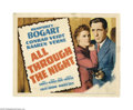 Movie Posters:Action, All Through the Night (Warner Brothers, 1942)....