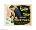Movie Posters:Film Noir, Dead Reckoning (Columbia, 1947)...