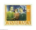 Movie Posters:Film Noir, Casablanca (Warner Brothers, 1942)...