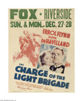 Movie Posters:Adventure, The Charge of the Light Brigade (Warner Brothers, 1936)...