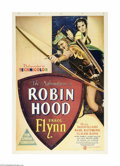 Movie Posters:Adventure, Adventures of Robin Hood (Warner Brothers, 1938)...