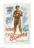 Movie Posters:War, Objective Burma (Warner Brothers, 1945)...