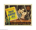 Movie Posters:War, This Above All (20th Century Fox, 1942)... (4 items)
