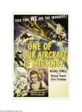 Movie Posters:War, One of Our Aircraft Is Missing (United Artists, 1942)...