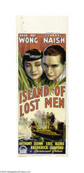 Movie Posters:Mystery, Island of Lost Men (Paramount, 1939)...